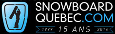 Snowboarding scene in Quebec Canada for events competitions with photos and videos of community news articles